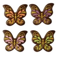 Schmetterlinge, dunkle Schokolade, sortiert