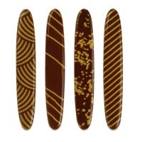 160 St. Sticks gold, dunkle Schokolade, sortiert
