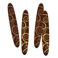 160 St. Sticks, dunkle Schokolade, sortiert