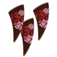 96 St. Fächer Rosen, dunkle Schokolade