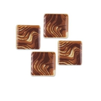 240 St. Quadrat, weiße Schokolade, Mramor