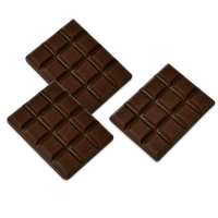 96 St. Mini-Schokoladetafeln, dunkle Schokolade
