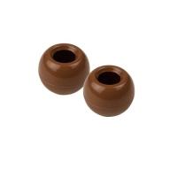 Schokoladen-Hohlkugel 3D, Vollmilchschokolade