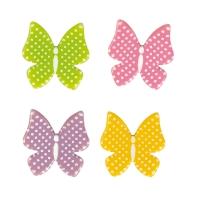 Schmetterlinge, weiße Schokolade, sortiert