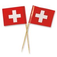 144 St. Schweizer Fahnen groß