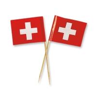 144 St. Schweizer Fahnen klein