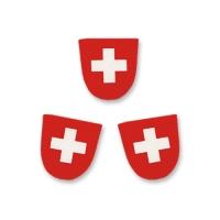 100 St. Dekor-Wappen Schweiz