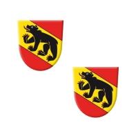 "Wappen ""Bern"" aus Dekormasse"
