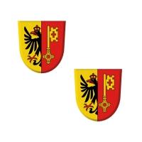 100 St. Dekor-Wappen Genf