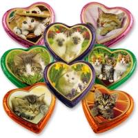 40 St. Nougat-Herzen Katzen