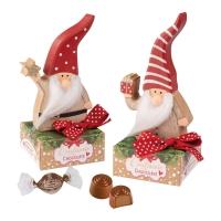 12 St. Holz-Nikolaus auf Box, sortiert