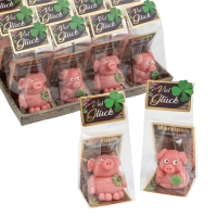12 St. Marzipan-Schweinchen, sortiert