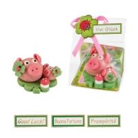 16 St. Marzipan-Schwein mit Baby