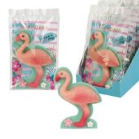 10 St. Marzipan-Flamingo im Cellophanbeutel