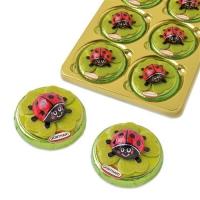 Schokokäfer auf Pralinentaler