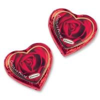 80 St. Gr. Pralinen-Herzen,rot,ohne Text