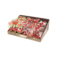 Tischaufsteller Marzipanfiguren Valentin, Muttertag