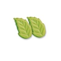 150 St. Grüne Marzipan-Blätter