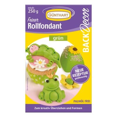 8 St. Rollfondant grün, 250 g