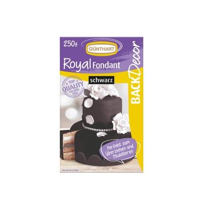 Royal Fondant schwarz