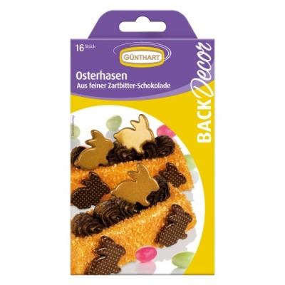 15 Schokoladen Osterhasen