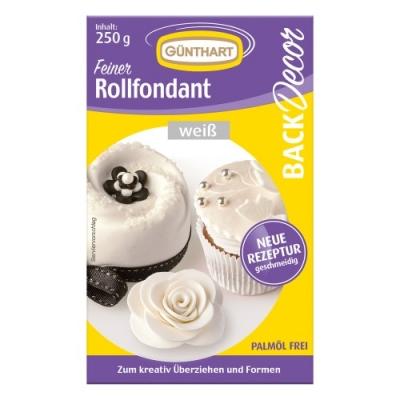 8 St. Rollfondant weiß 250 g