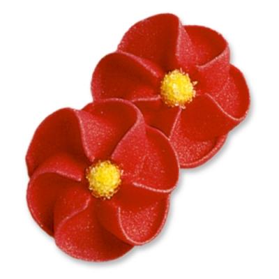 100 St. Feuerblumen rot