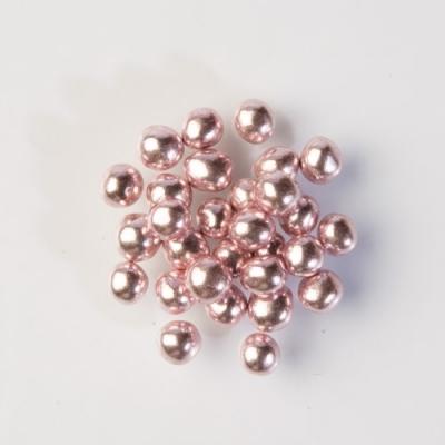 1 St. Glitzerperlen rosa, weicher Kern 500 g
