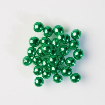 Glanzperlen, grün, weicher Kern