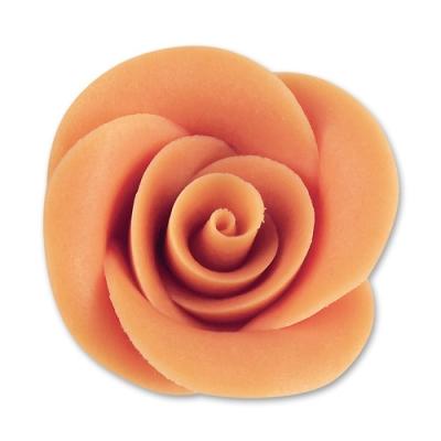 24 St. Marzipan-Rosen lachs groß