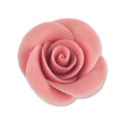 36 St. Marzipan-Rosen, rosa, mittel