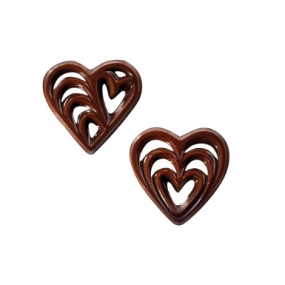 260 St. Schokoladen-Filigrane  Herz