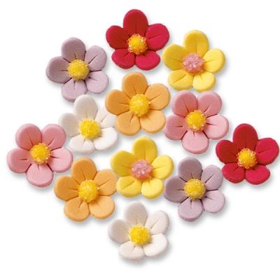 Blumen, bunt, groß
