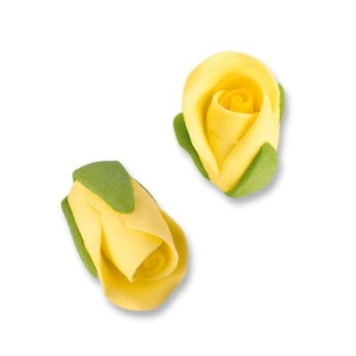 Rosen-Knospen, gelb