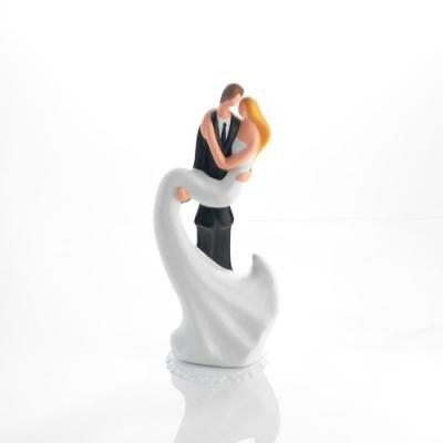 1 St. Porzellan-Brautpaaraufsatz mit Basis