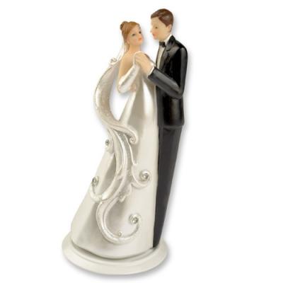 2 St. Poly-Brautpaaraufsatz auf Basis
