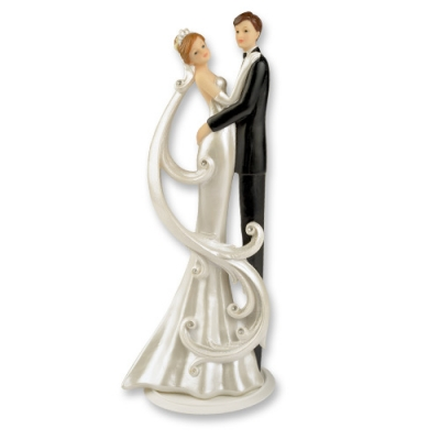 1 St. Poly-Brautpaaraufsatz lang