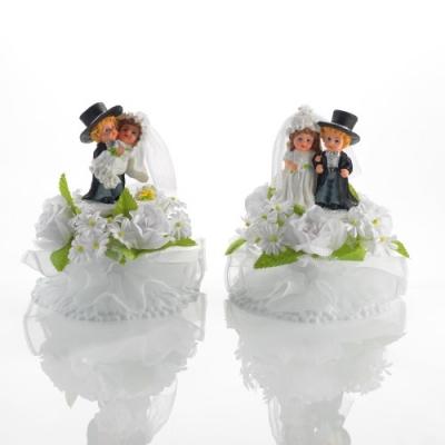 2 St. Poly-Brautpaar klein