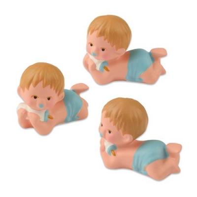 Babys, blau