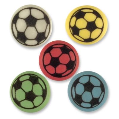 Fußball, flach, sortiert
