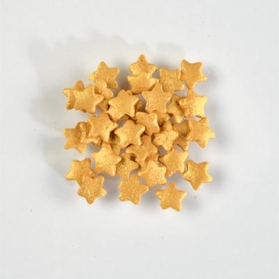 1 St. Streudekor, Zucker-Sterne, Gold 1,4 kg