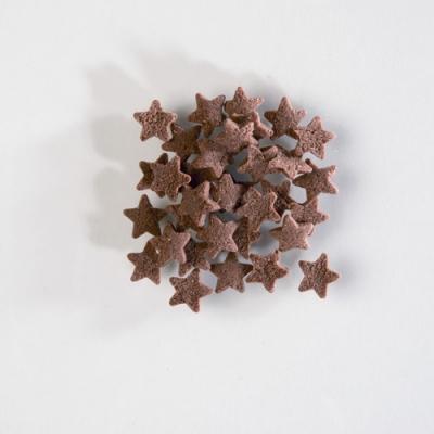 1 St. Streudekor, Zucker-Sterne, braun 1,4 kg