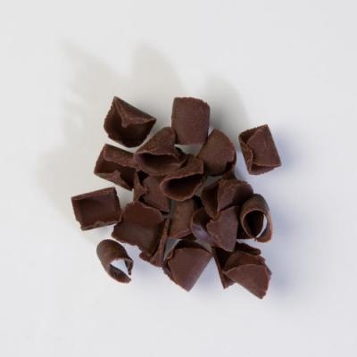 1 St. Locken, dunkle Schokolade