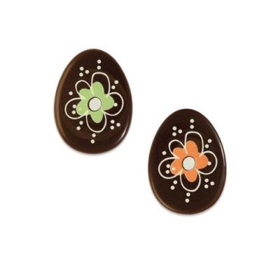 Ostereier, dunkle Schokolade, sortiert