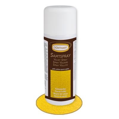 Samt-Spray, gelb