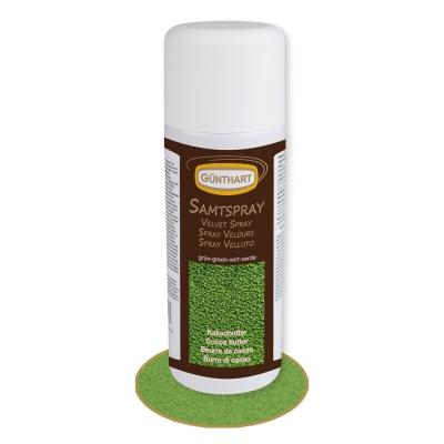 Samt-Spray, grün