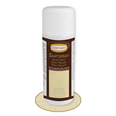 1 St. Samtspray weiße Schokolade, Kakaobutter