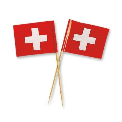 Schweizer Fahnen, klein