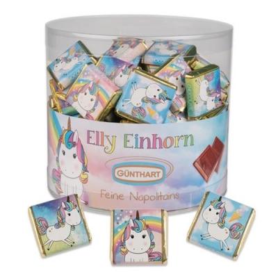 """Napolitains """"Elly Einhorn"""" (Nougatcreme-Füllung)"""