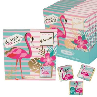 16 St. Pralinen-Präsent  Flamingo
